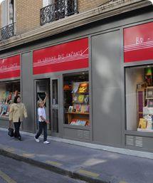 Photo de la façade de la Librairie des Enfants